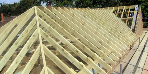 Exceptional Close Up Of Cut U0026 Pitch Roof Job